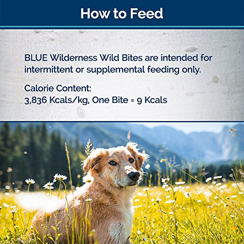 Blue Buffalo High Protein Grain Free Dog Treats Bayou Biscuits