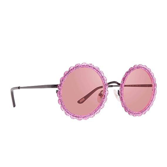 Amazon.com: DIFF Eyewear Dixie – Gafas de sol redondas con ...