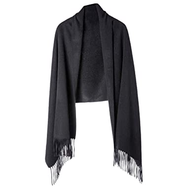 e23af2117 Cashmere Wrap Shawl for Women | Authentic 100% Pure Cashmere Extra Large  (75inx25.