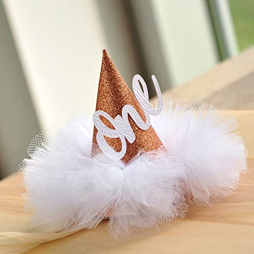 First Birthday Hat Rose Gold Smash Cake Winter Onederland Mini Party Christmas Gift Shop