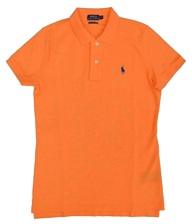 Ralph Lauren Polo Skinny Camisa de Polo T.M, Naranja: Amazon.es ...