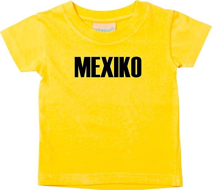 Shirtstown Bebé Niños Camiseta Fútbol Camiseta de País Mexico: Amazon.es: Ropa y accesorios