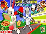 : Super Pizza Hero Easter Bunny Tycoon!