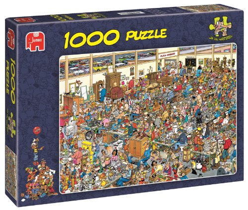 Jumbo Puzzle - Jan Van Haasteren - Antique Show (1000 Pieces)