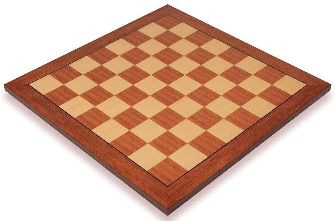 Amazon Com Mahogany Maple Standard Chess Board 2 25 Squares
