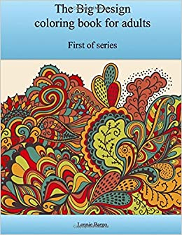 Book The First Big Design coloring book for adults
