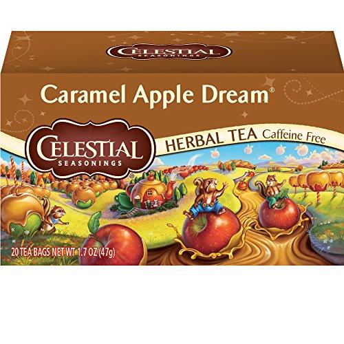 Herbal Tea, Caramel Apple Dream, 20 Count (Pack of 6) ()