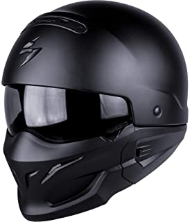 87c90d0a Caberg Ghost Matt Black Open Face Motorcycle Helmet: Amazon.co.uk ...