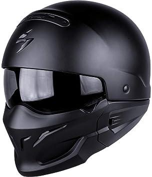 Scorpion Casco Moto exo-combat, Matt black, XXL
