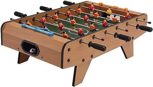 Futbolines Tabla Fooseballs Seis Golpes Foozeballs Fútbol De La Tabla Bolas De Futbolín Juguetes De Juego De Mesa De Mesa Niño (Color : Brown, Size : 68 * 39.5 * 20cm): Amazon.es: Hogar