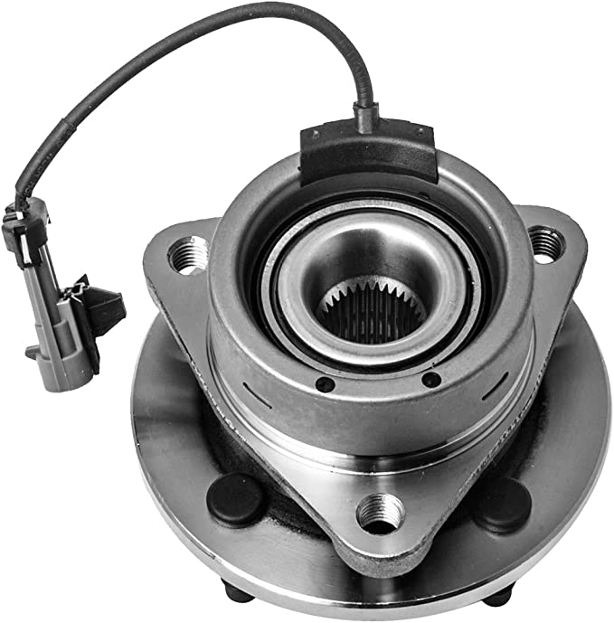 4 Lug 4-Wheel ABS Front Wheel Hub and Bearing Assembly Left or Right Compatible Chevrolet Cobalt Pontiac G5 Pursuit Saturn Ion AUQDD 513204