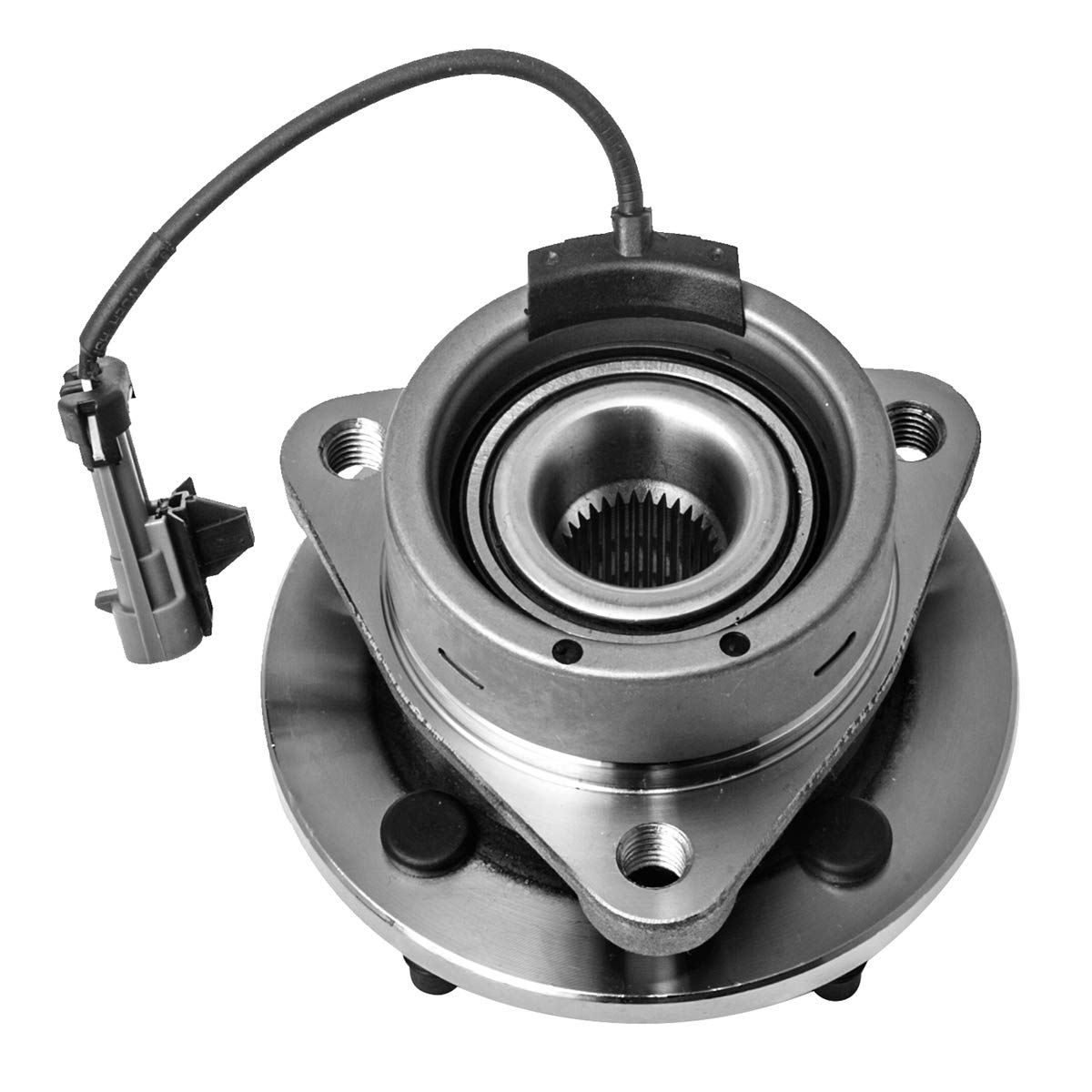Automotive 4 Lug 4-Wheel ABS Front Wheel Hub and Bearing Assembly ...