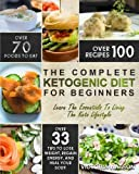 img - for Ketogenic Diet: The Complete Ketogenic Diet Cookbook For Beginners   Learn The Essentials To Living The Keto Lifestyle   Lose Weight, Regain Energy, and Heal Your Body (Ketogenic Diet For Beginners) book / textbook / text book