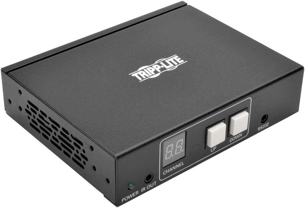 IR Control 1080p 60Hz 328ft 100M Video w// RS-232 Serial Tripp Lite HDMI Over IP Receiver Audio B160-100-HDSI