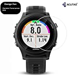 ACUTAS® Tempered Glass for Garmin Forerunner 935 (Transparent) Full Screen Coverage (Except Edges) with Easy Installation kit