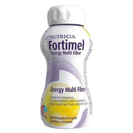 No FORTIMEL Energy de fibra de Vainilla sabor 6400 ml líquido