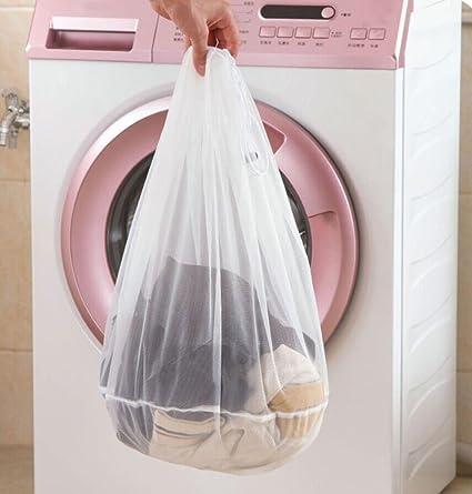 dacawin cordón sujetador ropa interior bolsas para ropa sucia herramientas de limpieza para el hogar lavar