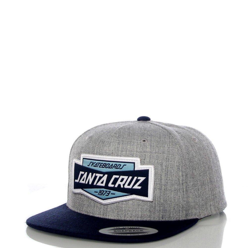Gorro Snapback Santa Cruz Unit Dark Gris-Indigo (Default, Gris ...