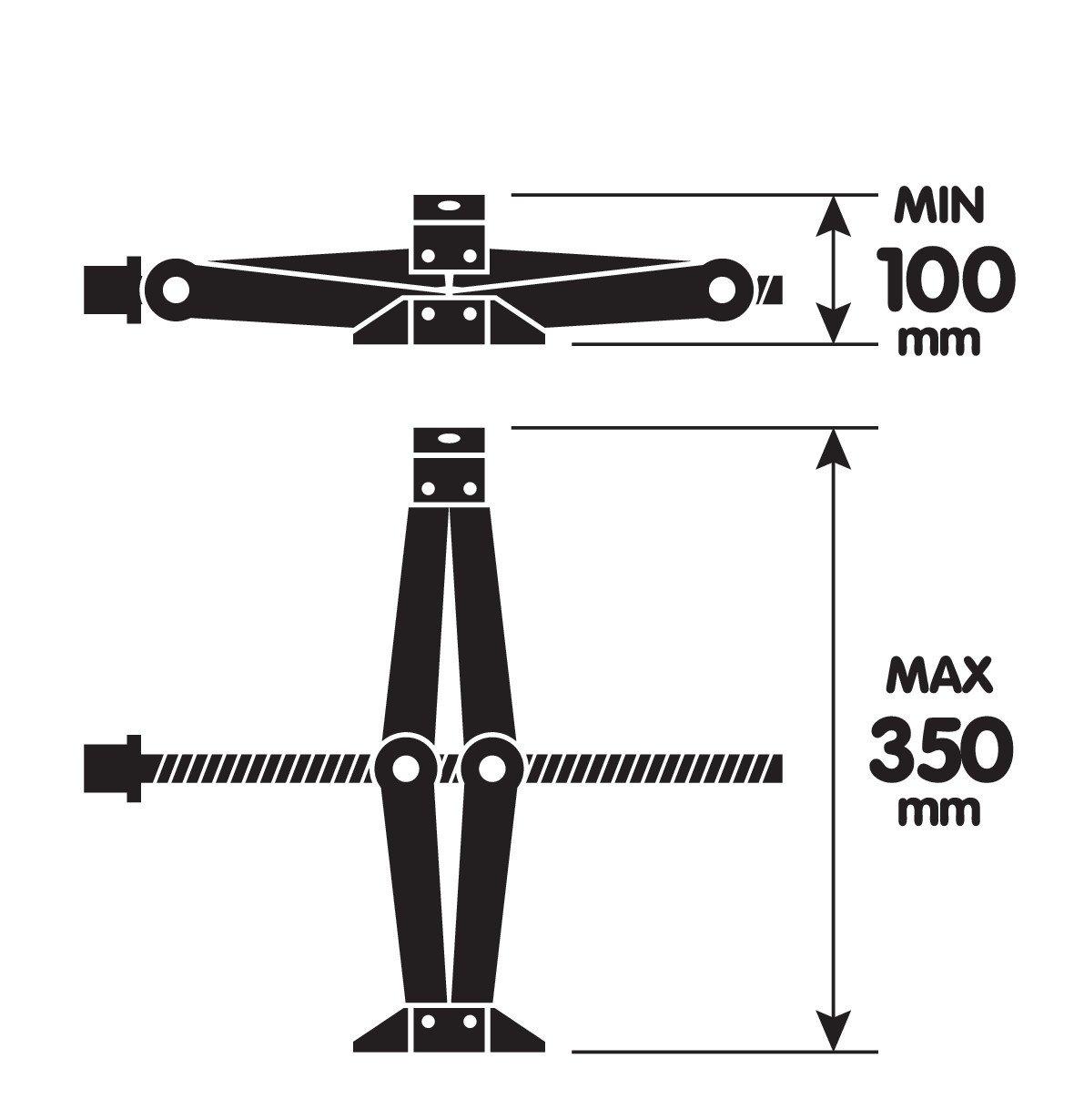 Lampa 71502 /Gato de pant/ógrafo con trinquete