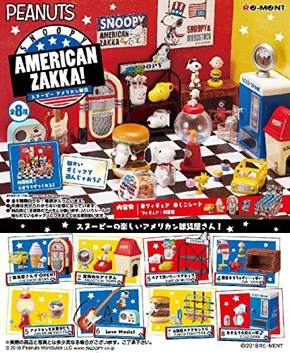 Peanuts - Snoopy American ZAKKA! 8Pack Box for sale  Delivered anywhere in USA