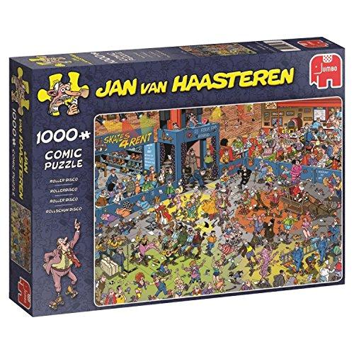 Jumbo Jan Van Haasteren Roller Disco Jigsaw Puzzle (1000 Piece)