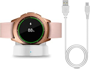 Charger for New Samsung Galaxy Watch 42mm/46mm, Upgraded Charging Cradle Dock for Samsung Galaxy Watch SM-R800/R810/R815 Smart Watch Charger (Not for Active)