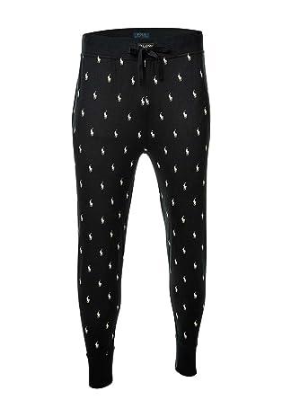 98b2ed00249703 Polo Ralph Lauren Pantalon Joggers, Pantalon de Jogging, Longue, Loungewear  - Noir