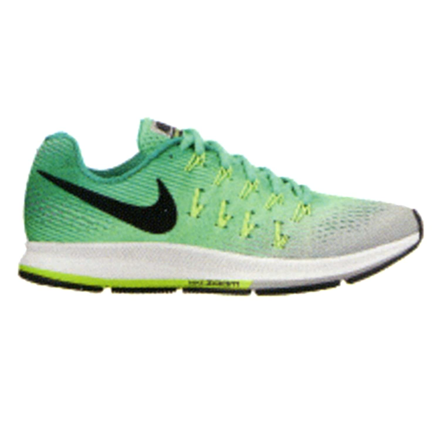 ff59369508bb Nike Air Zoom Pegasus 33 Electro Green White Ghost Green Women s Running Shoes  hot