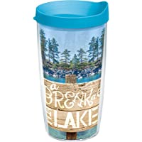 Tervis Break at The Lake Tumbler with Travel Lid 16 oz Clear