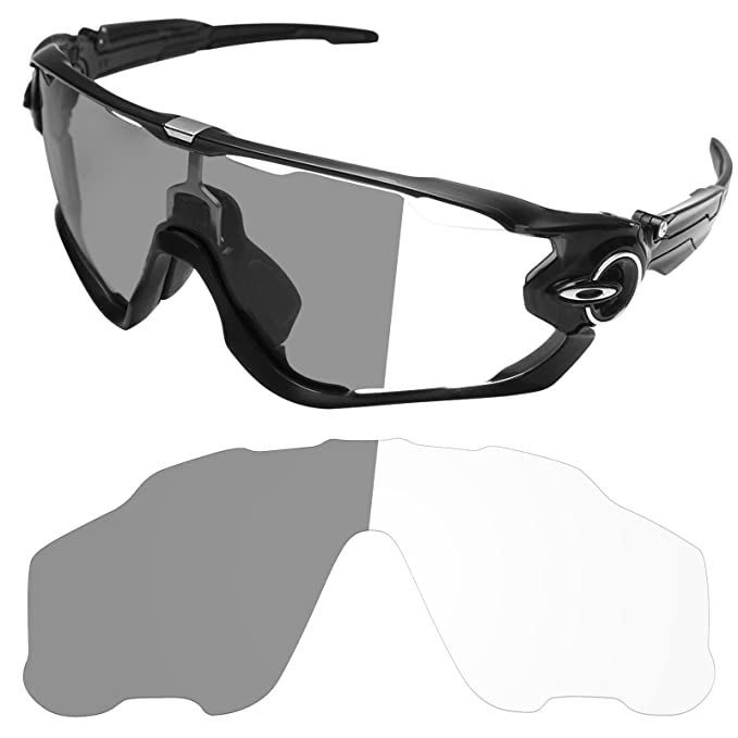 e6d1ef23b2 Tintart Performance Replacement Lenses for Oakley Jawbreaker - Photochromic  Clear to Dark  Amazon.ca  Clothing   Accessories