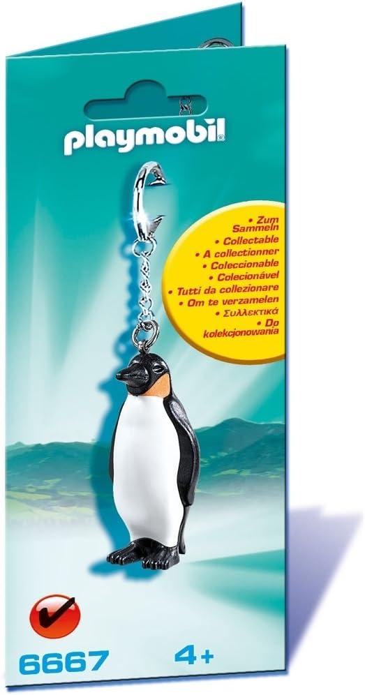 PLAYMOBIL - Llavero pingüino (6667)