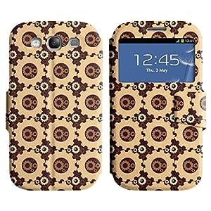 LEOCASE Funda Carcasa Cuero Tapa Case Para Samsung Galaxy S3 I9300 No.1007544