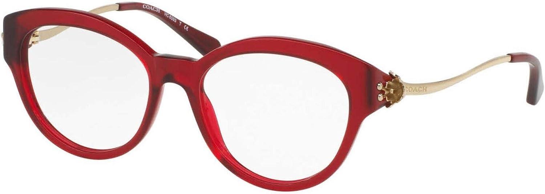 Eyeglasses Coach HC 6125 F 5509 SOLID OXBLOOD