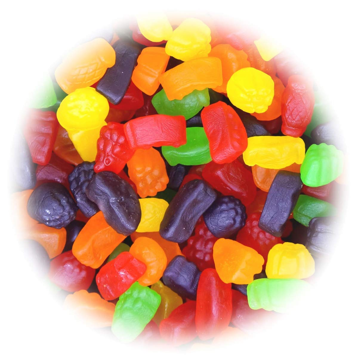 Canada Candy, Huge Bag of Sour Ju Jubes Gummies, 2.5kg/5.5lbs, Imported from Canada} by Canada Candy