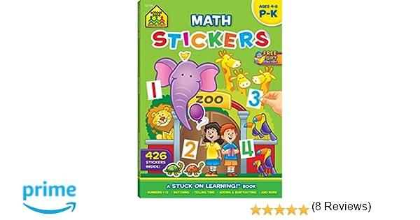 Sticker Workbook-Math Readiness Grades P-K: Jennifer Neumann, John ...