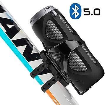Avantree Altavoz de la Bici de 10W Bluetooth con Soporte para ...