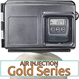 Air Injection Gold 10 with Fleck 2510SXT and 1'' Bypass - AIG10-25SXT - For Iron Hydrogen Sulfide Rotten Egg Odor Manganese