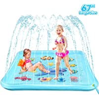 "EpochAir Splash Pad - 67"" Sprinkler for Kids, Inflatable Wading Pool Outdoor Water Toys Summer Fun Game, Perfect Swimming Pool Toy for Babies and Toddlers"
