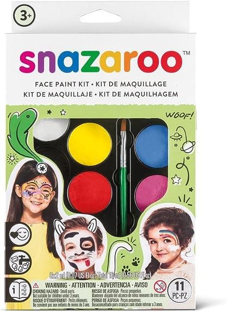 Snazaroo- Maquillaje fiesta, Multicolor, no (Colart 1180102): Amazon.es: Juguetes y juegos