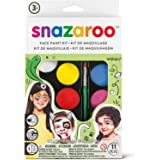 SNAZAROO KIT TAVOLOZZA FESTA 1180102 party make up body face paint
