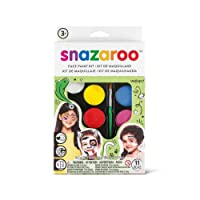 Snazaroo SZ1180102 Rainbow Face Paint Palette Kit