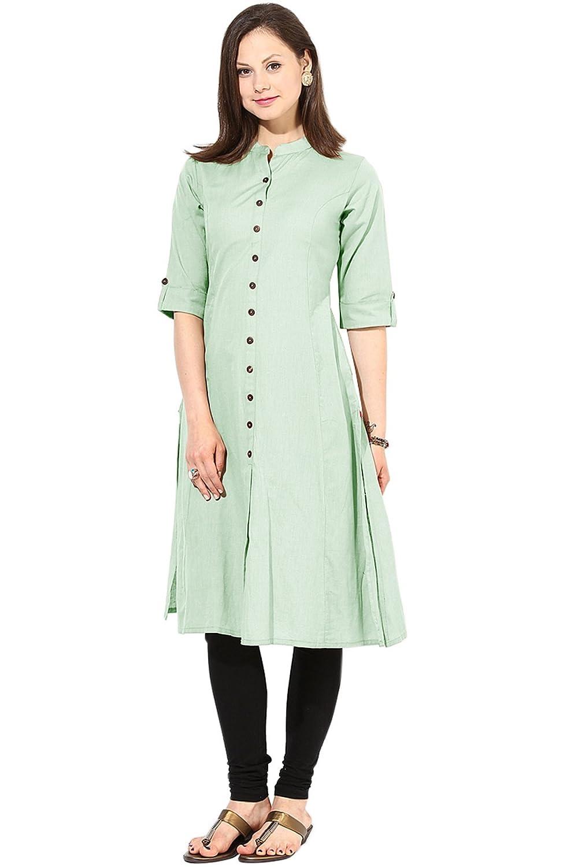 ethnic bazaar women u0027s cotton kurti zenny pista l pista amazon