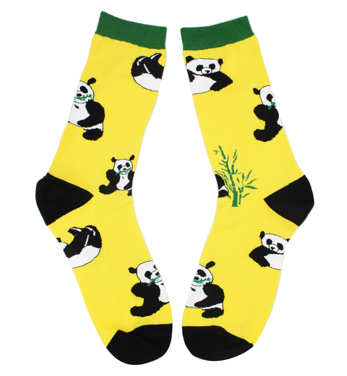 3 Pack Men's Crazy Cool Animals Pattern Novelty Crew Cotton Funny Socks by Happypop (Image #4)