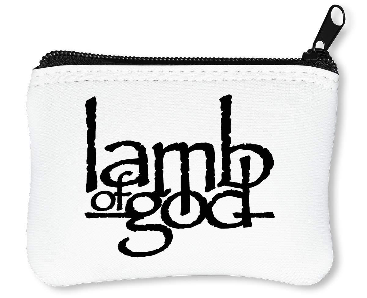 Lamb of God Portefeuille À Glissière Porte-Monnaie