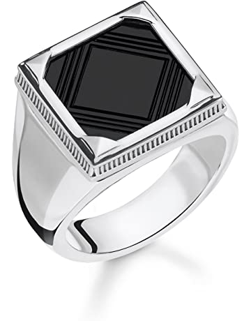 982948e963 Thomas Sabo Men Ring Onyx 925 Sterling Silver