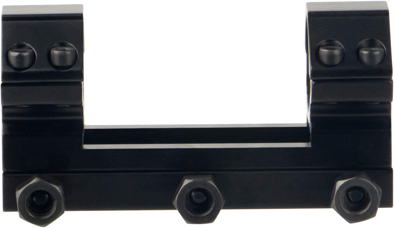 ToopMount Anello tattico di Montaggio 25,4 mm di Portata per la Caccia Anelli di Montaggio a Doppio Tubo su rotaia Picatinny per la Caccia al mirino Ottico Airsoft