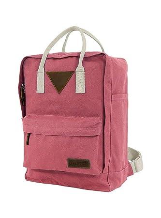 fc4219bd4699e Ansvar II Rucksack aus Bio Baumwoll Canvas - Hochwertiger Damen   Herren  Tagesrucksack aus 100%