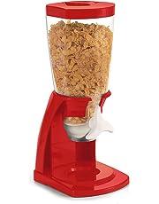 TU TENDENCIA UNICA Dispensador de Cereales de plástico Polipropileno Rojo.Gran Capacidad de Almacenamiento y
