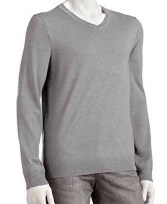 Marc Anthony Mens Slim Fit Cotton Cashmere V-Neck Sweater Big Tall ...