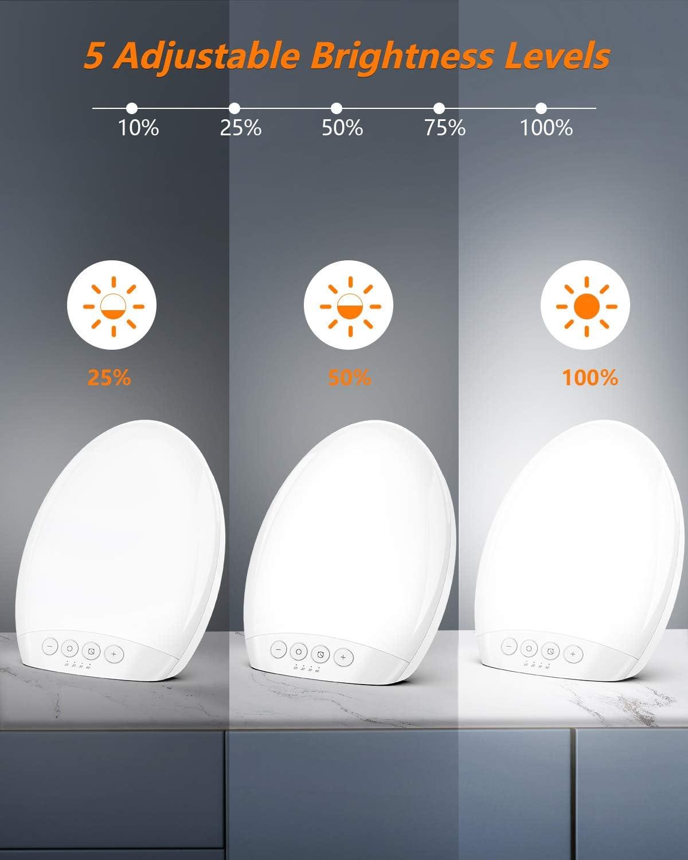Tageslichtlampe 10000 Lux Tecboss LED Lichttherapie lampe mit 60 Min Timer und Aufbewahrungstasche,Tragbar USB Tageslichtleuchte mit 3 Lichtfarben und 5 Stufenhelligkeit,UV-freie LED Sonnenlicht